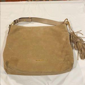 Michael Kors Elyse Large Suede shoulder bag